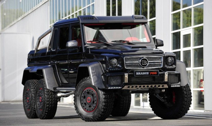 Brabus Modifies the G 63 AMG 6x6 Because They Can [Photo Gallery]