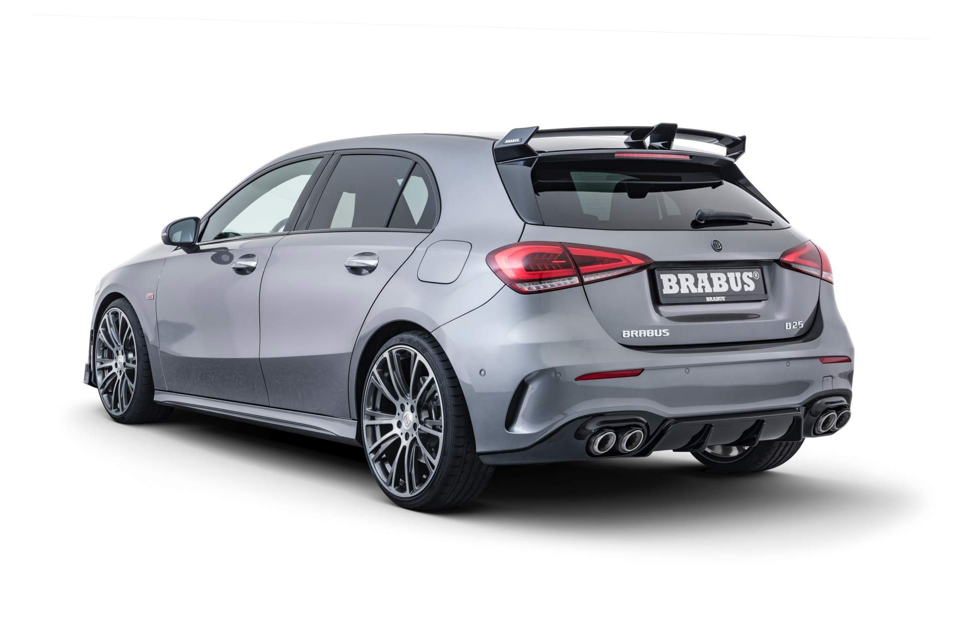 Brabus Reveals Hot 2019 Mercedes A-Class Body Kit and 270 HP