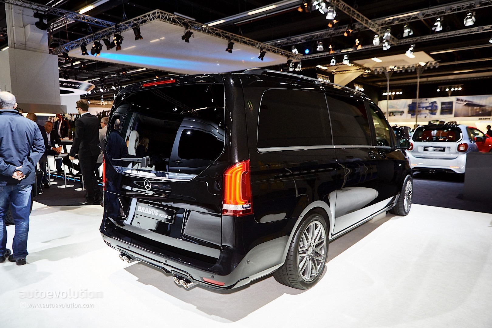 Brabus Sprinter And V Class Fill The Luxury Van Gap In Frankfurt