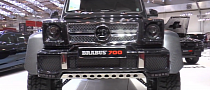 Brabus-Tuned G63 AMG 6x6 Towers over Essen 2013 [Video]