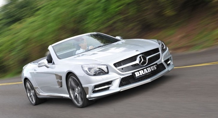 Brabus Tunes 2013 Mercedes SL R231 [Photo Gallery]