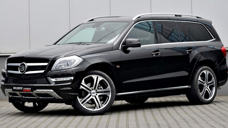 Brabus tunes mercedes benz gl class suv autoevolution for Mercedes benz 7 seater suv