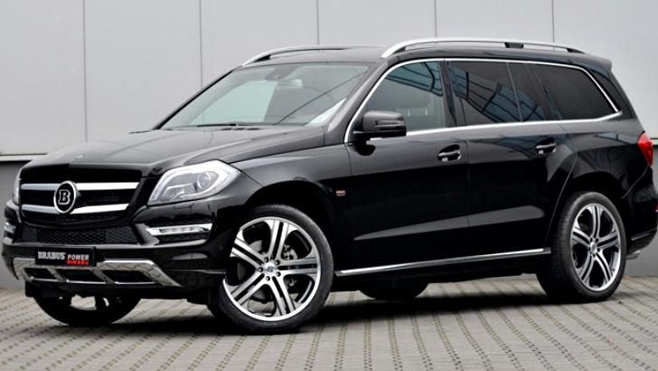 Brabus Tunes Mercedes Benz Gl Class Suv Autoevolution