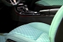 Brabus Tuning Overkill: Turquoise Seats in Mercedes SLK [Video]