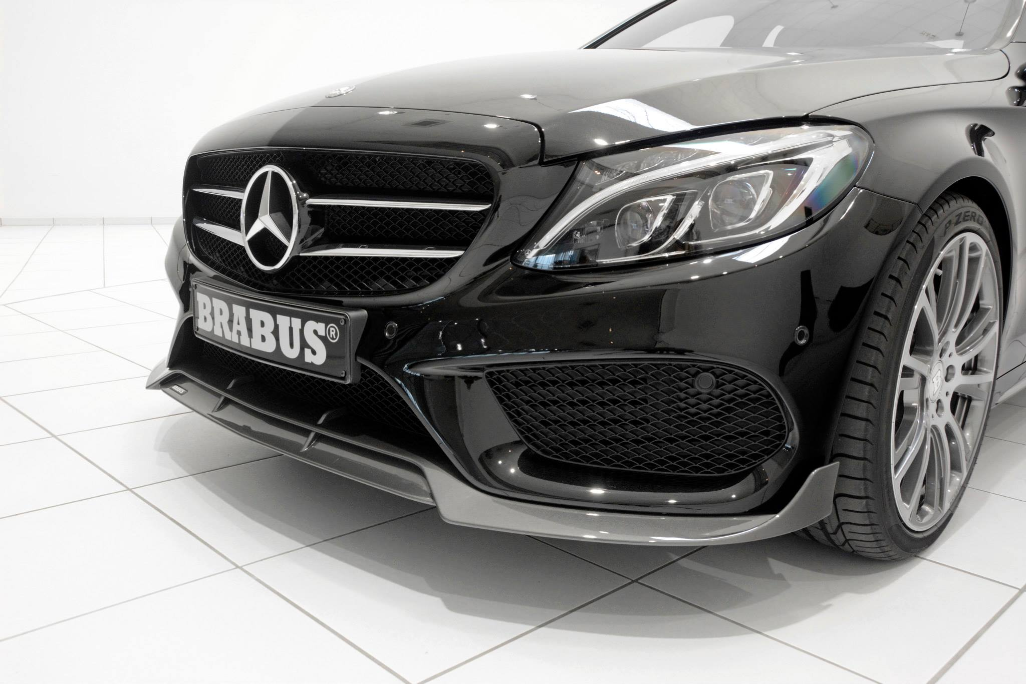 brabus tuning program for w205 c class with amg sports. Black Bedroom Furniture Sets. Home Design Ideas