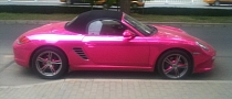 Brace Yourselves, a Pink Porsche Boxster Is Coming