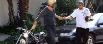 UPDATE:Brad Pitt Involved in Motorcycle Accident - Video Included