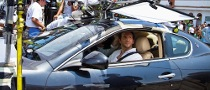 "Bradley Cooper Drives A Maserati in New ""Limitless"" Movie"