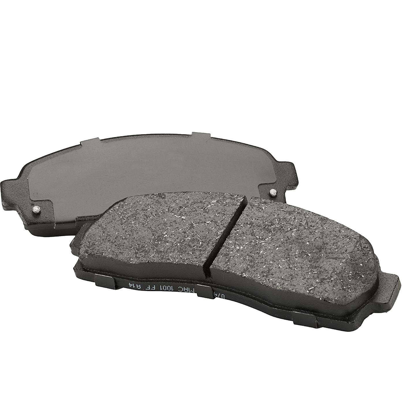 Brake pads organic ceramic and semi metallic what are