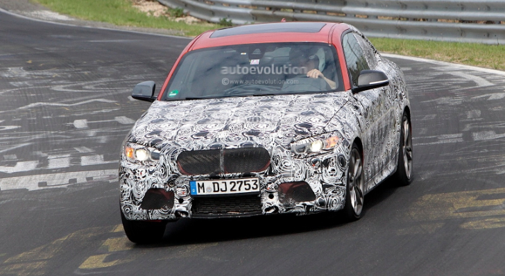 Brand New BMW M235i Spyshots [Photo Gallery]