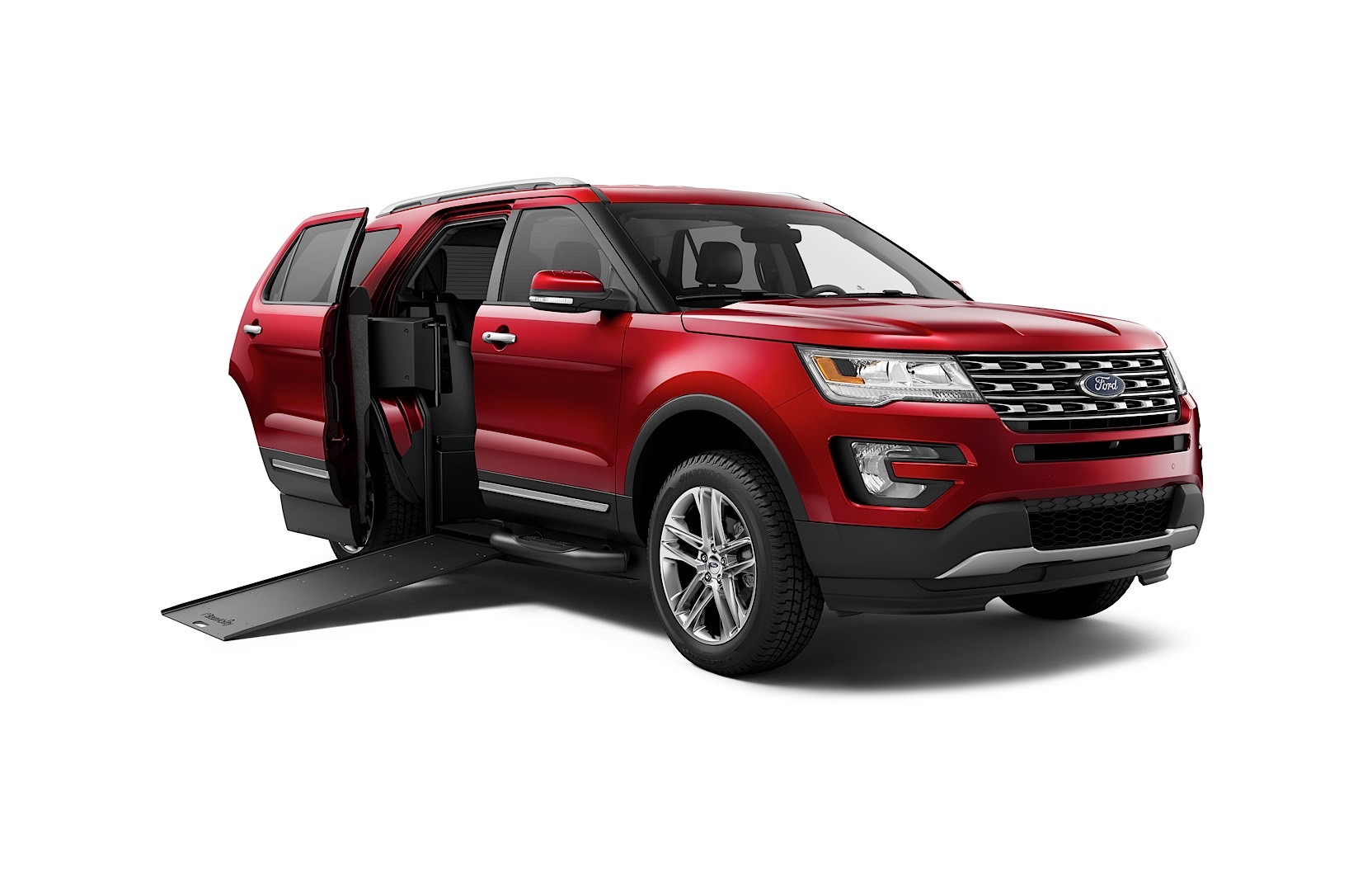 braunability 39 s first wheelchair accessible suv unveiled is based on the ford explorer