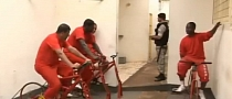 Brazillian Inmates Pedal for Electricity and Sentence Reduction [Video]