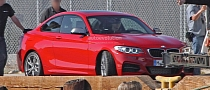 Breaking Cover: BMW M235i Accidentally Unveiled