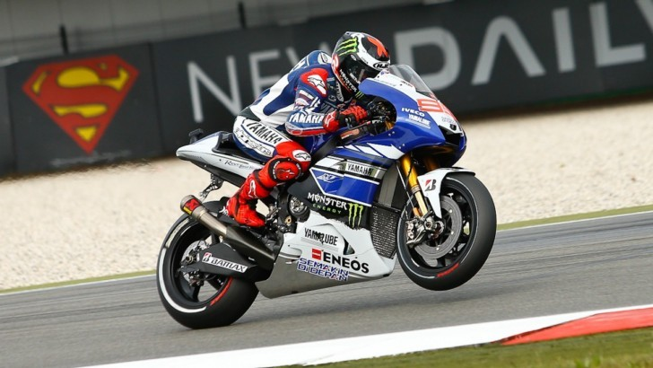 Breaking News: Jorge Lorenzo Races in Assen with Broken Collarbone
