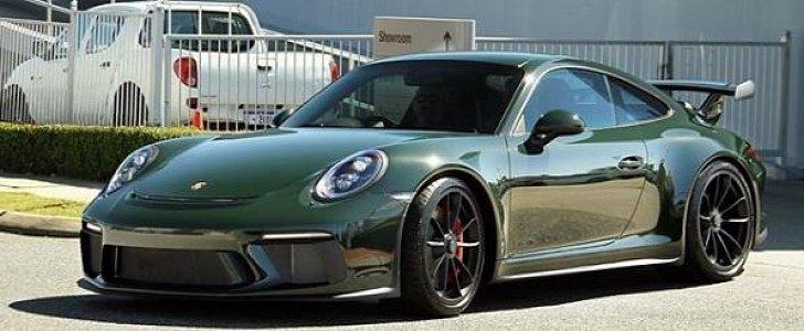 brewster green 2018 porsche 911 gt3 is a manual gearbox porsche 911 turbo automatic vs manual porsche 911 manual or tiptronic