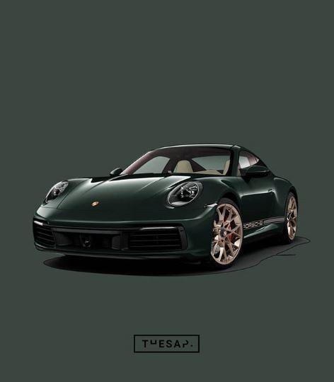 Brewster Green 2020 Porsche 911 Spec Looks So Lavish