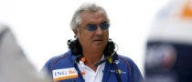 Briatore Spotted in the Paddock at Silverstone