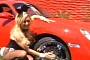 Bridget Marquardt Drives Custom Red Porsche Cayman [Video]