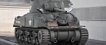 Bring a Giant Trailer: 1943 Sherman M4A1 Grizzly Tank for Sale