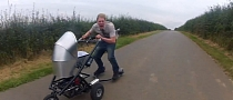 Brit Builds Word's Fastest Pram [Video]