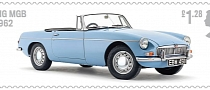 British Auto Legends Stamp Collection Celebrates UK's Iconic Cars