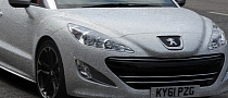 British Celebs Travel in Crystal-Encrusted Peugeot RCZ