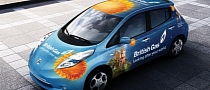 British Gas Enters Two Nissan Leafs in RAC Future Car Challenge