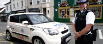 British Police Go on Patrol with Kia Soul
