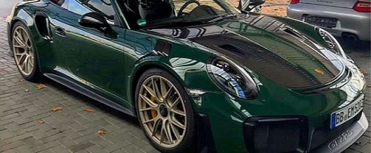 British Racing Green 2018 Porsche 911 GT2 RS Is Dressed ...