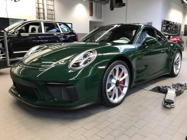 Gold Tesla Roadster >> British Racing Green 2018 Porsche 911 GT3 Is a Manual Treasure - autoevolution