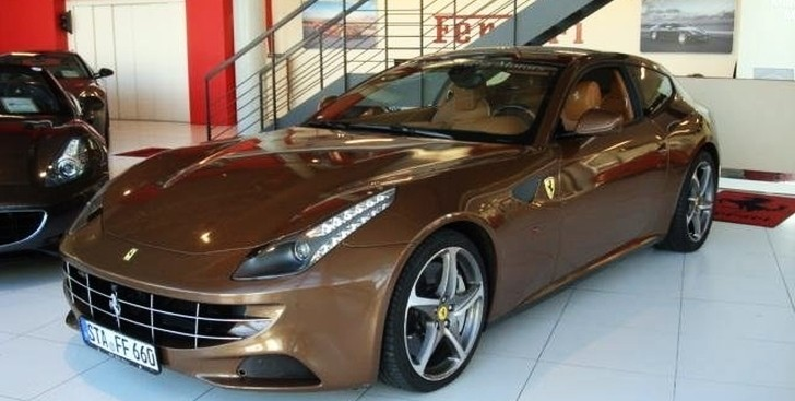 Junk Cars Chicago >> Brown Ferrari FF for Sale in Germany - autoevolution