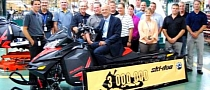 BRP Manufactures Its Three Millionth Ski-Doo Snowmobile