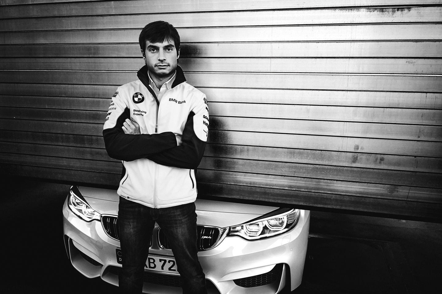 Bruno Spengler Poses With M4 Coupe On Hungaroring