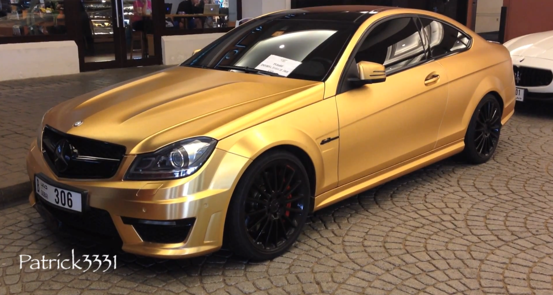 Brushed Gold C Amg