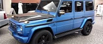 Brushed Metallic Blue G55 AMG [Video]