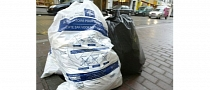 Brussels Police Hides Speed Traps in Garbage Bags