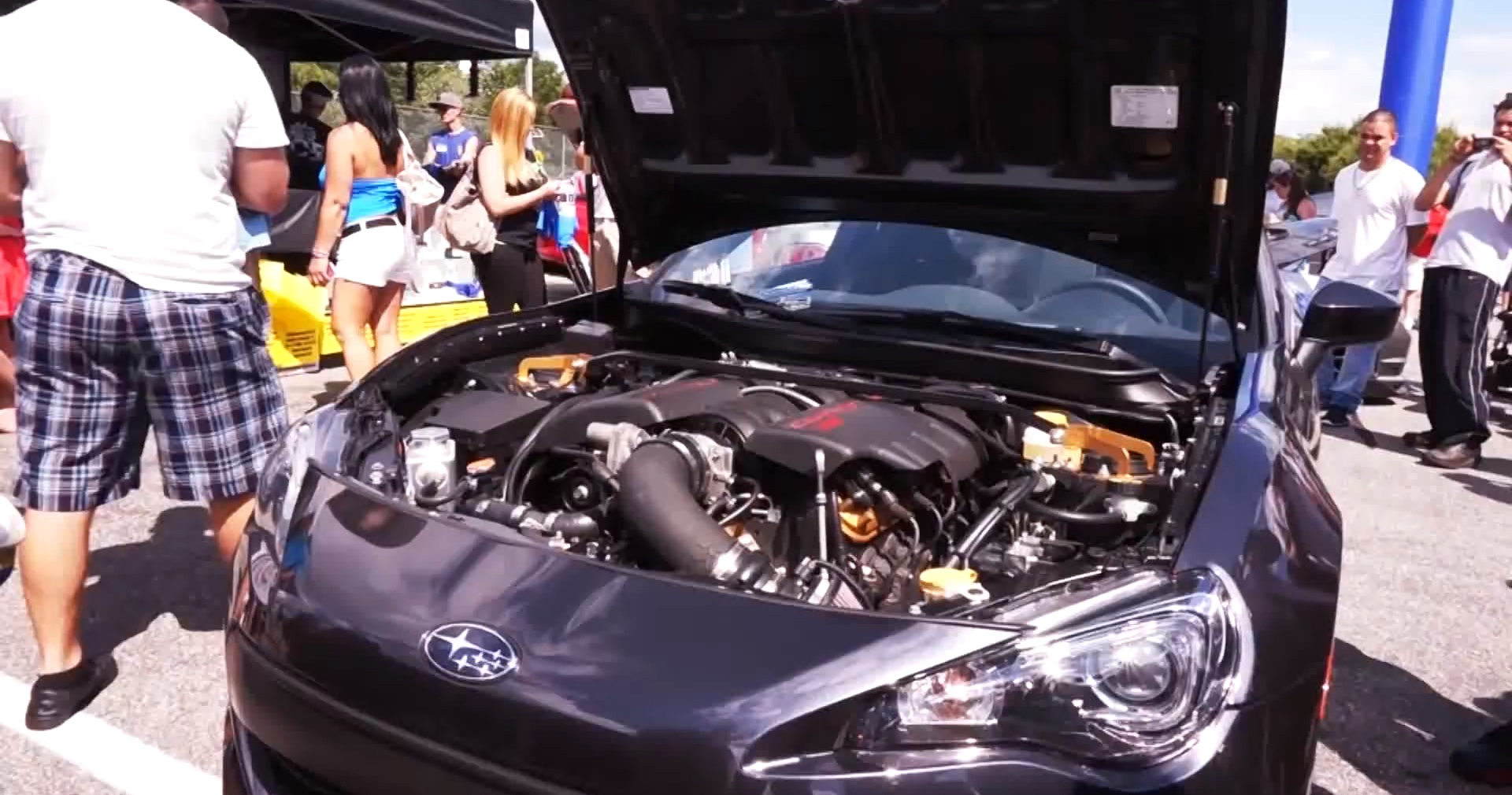 Brz06 A Subaru With V8 Corvette Engine Swap Has 500 Hp
