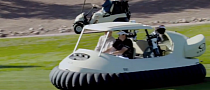 Bubba Watson Invents New Hovercraft Golf Cart [Video]
