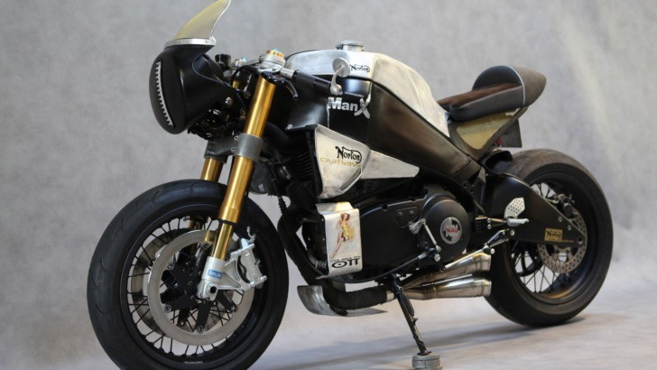 "Buell XB12S Makes a ""Neoretro"" Norton Manx Substitution"