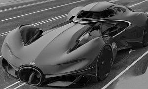 "Bugatti ""Batmobile"" Looks Like a Modern Type 57 SC Atlantic"