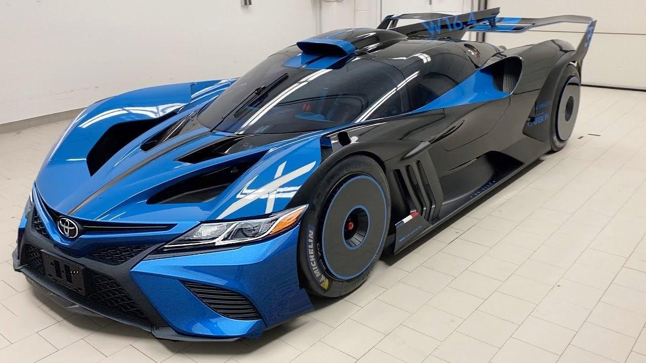 Bugatti Bolide Camry Is Not Your Average Toyota Autoevolution