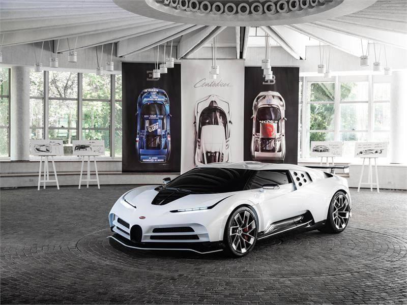 The Bugatti Centodieci Leaked Ahead of Pebble Beach