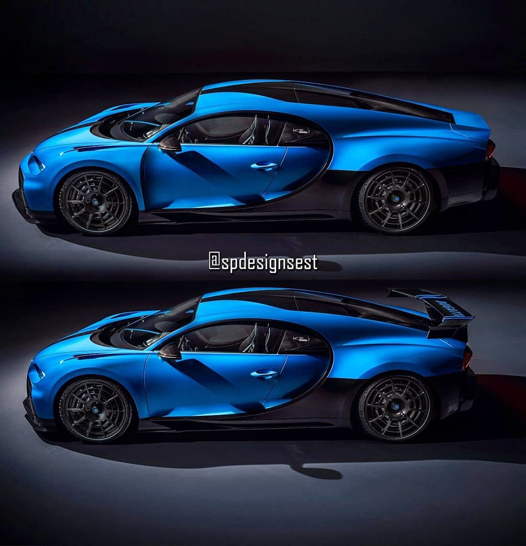 """Bugatti Chiron Pur Sport """"Longtail"""" Offers The Best Of"""