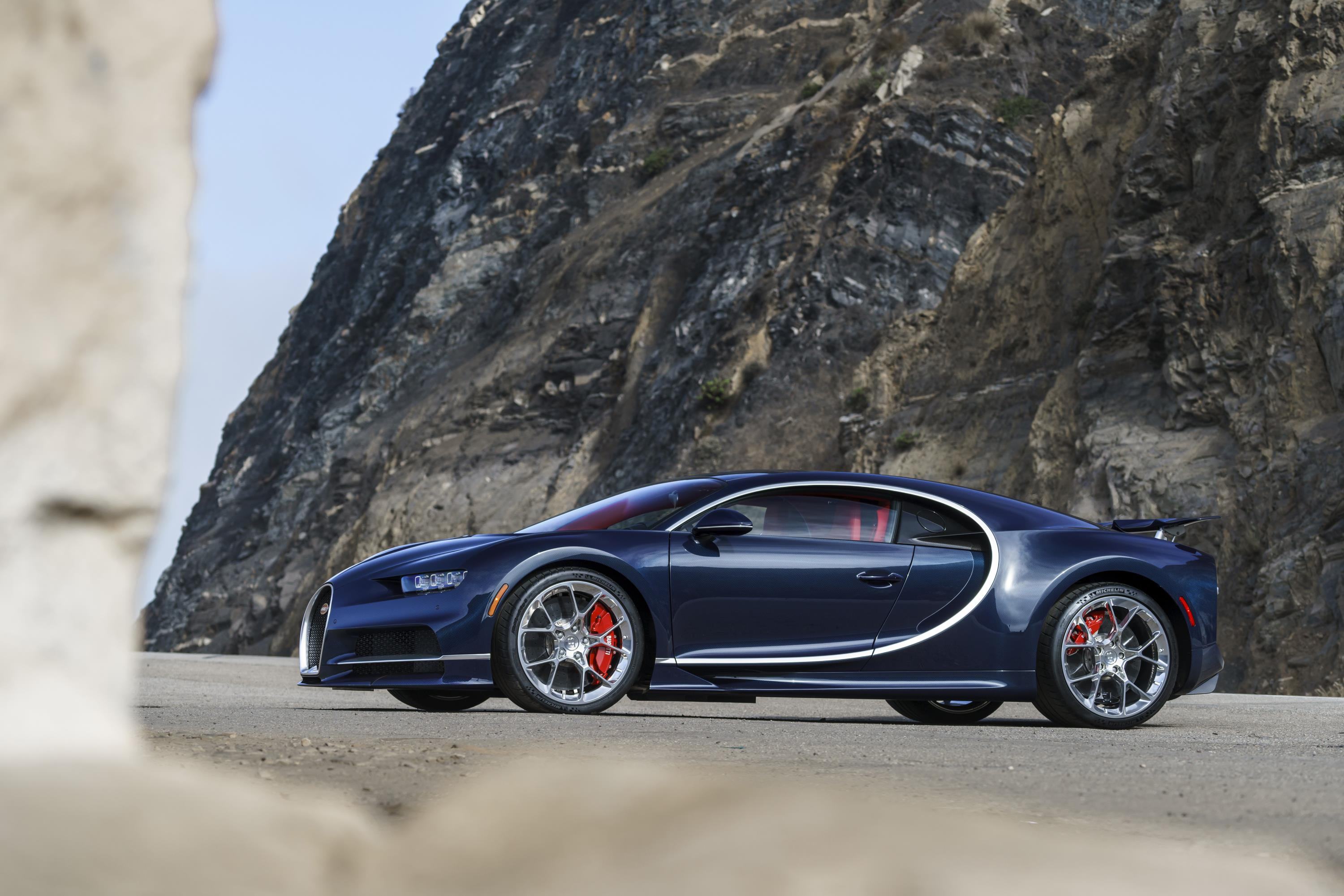 Bugatti looks to electrify their next Chiron
