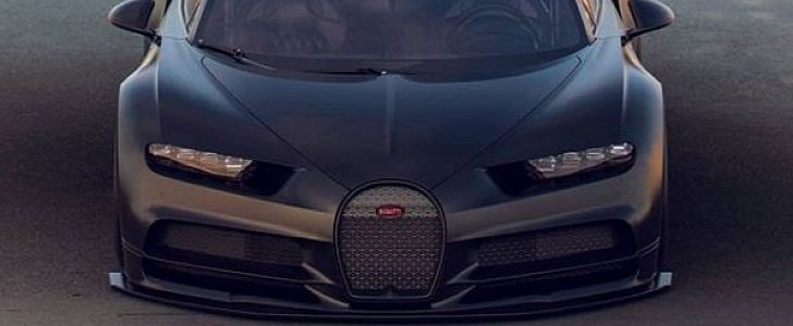 bugatti chiron supersport rendered as 300 mph monster autoevolution. Black Bedroom Furniture Sets. Home Design Ideas