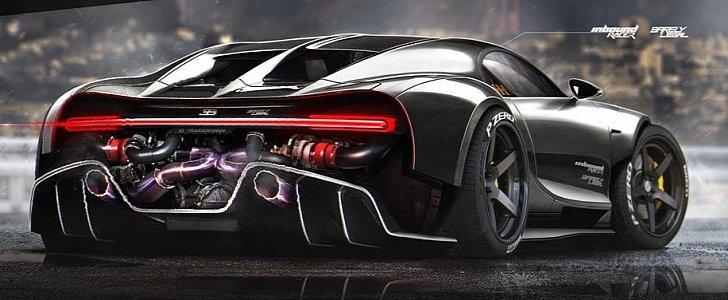 Ducati  Vs Bugatti Veyron