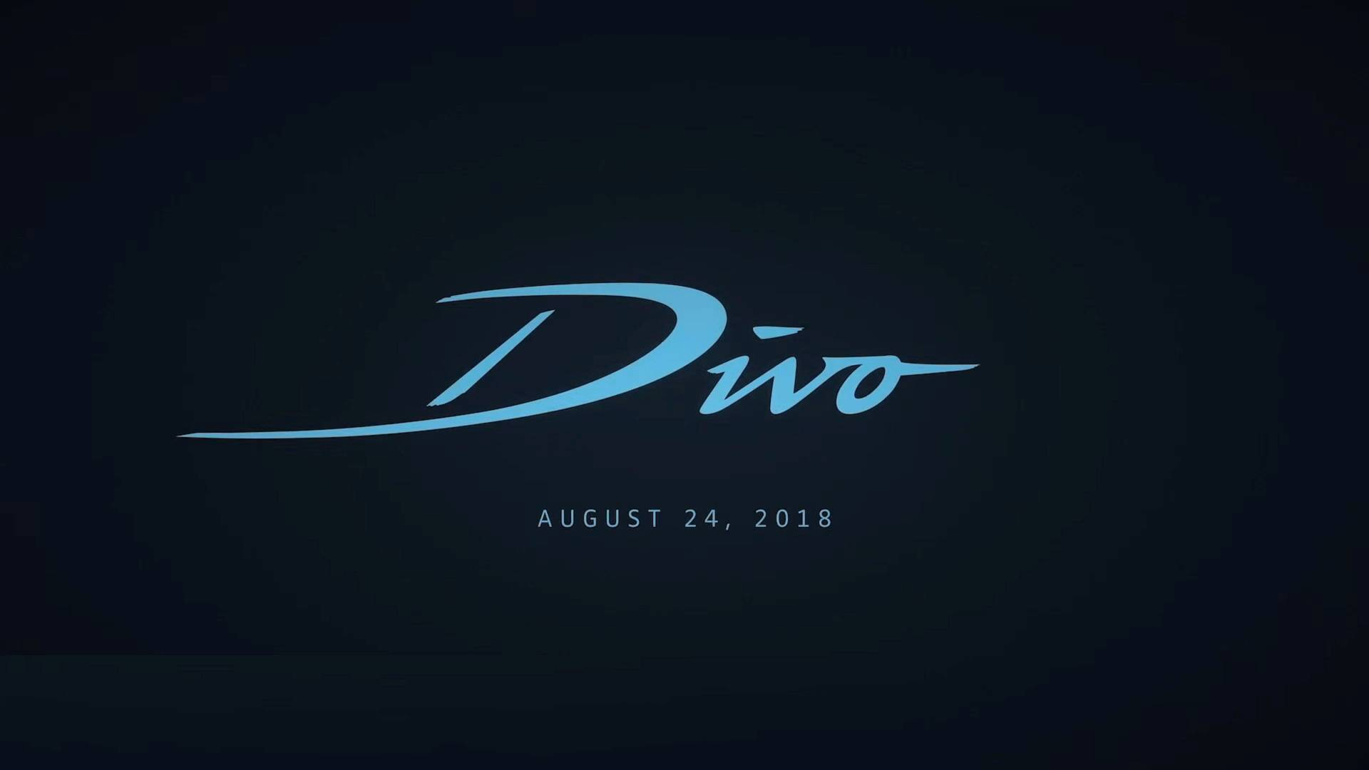 Bugatti Debuts Eight Part Teaser Video Series About Chiron Divo