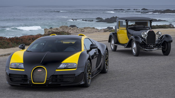 bugatti reveals 1 of 1 veyron at pebble beach photo. Black Bedroom Furniture Sets. Home Design Ideas
