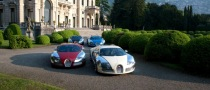 Bugatti's 100th Celebration at Concorso d'Eleganza