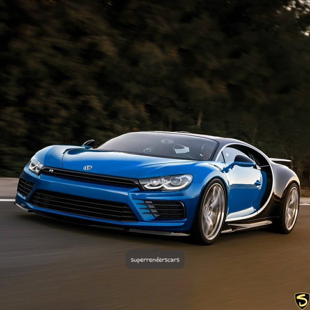 Bugatti Chiron Grand Sport Roadster Rendering Looks Cool: Bugatti Scirocco, STI Chiron Renderings Are So Bad They